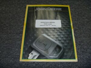 John Deere Jd H240 Loader Front End Owner Operator Maintenance Manual Omw56556