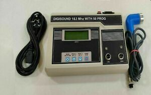 1mhz 3mhz Physio Original Ultrasound Ultrasonic Therapy Machine For Pain Relief