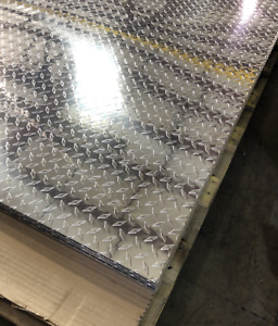 4 X 9 Aluminum Diamond Plate Sheet Starbrite 025 Thick