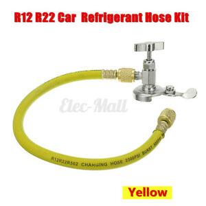Car A c R12 R22 Can Tube Tap Tapper Air Conditioning Refrigerant Recharge Kit