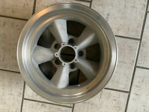 Vintage Torque Thrust Style Wheel Appliance 14 X 6 On 4 3 4 With 3 Inch Bs Nice