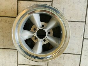 Vintage Torque Thrust Style Wheel 14x6 On 4 3 4 With 3 1 8 Bs Old School