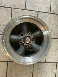 Vintage American Racing Torque Thrust Style Wheel 15x7 On 5x5 With 3 3 4 Bs