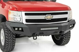 Rough Country Chevy Heavy Duty Front Led Bumper 07 13 1500 Silverado