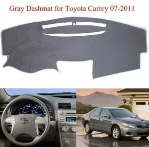 Dashboard Cover Sun Shade Dash Mat Board Carpet Fits For Toyota Camry 2007 2011