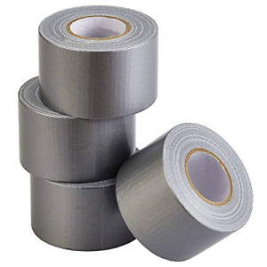 Lichamp Heavy Duty Silver Duct Tape Bulk Multi Pack Travel Duct Tape Small 2 X