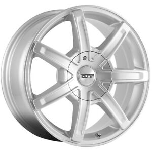 4 Touren Tr65 17x7 5 5x4 5 5x5 40mm Silver Wheels Rims 17 Inch
