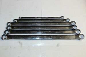Snap on Tools 12 pt Metric High performance Std Handle 15 Offset Box Wrench Set