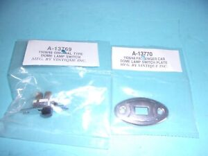 1928 1929 1930 1931 1932 1933 1934 1935 1936 Ford Car Dome Light Switch Plate