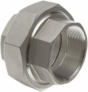 Merit Brass Stainless Steel 304 Cast Pipe Fitting Union class 150 2 Nptfemale