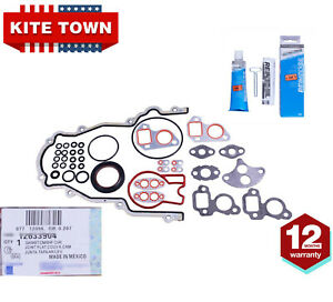 Timing Chain Cover Gaskets Set For 97 16 Chevy Gmc V8 Gm Ls1 Ls2 Ls3 Ls6