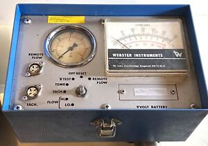 Webtec Webster Analog Hydraulic Tester Test Unit Ht 300 R With Flow Meter