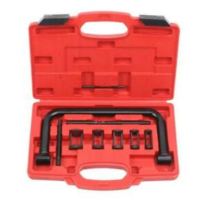 Valve Spring Compressor Pusher Automotive Tool Kit 5 Sizes For Car Motorcycle Us