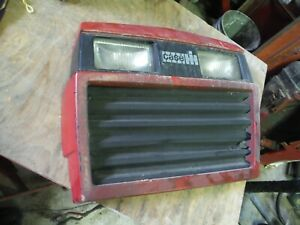 Case Ih 255 Tractor Front Grille Has A Few Small Cracks 8