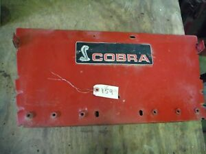 Case Ih 255 Tractor Rear Fender Plate Panel 159