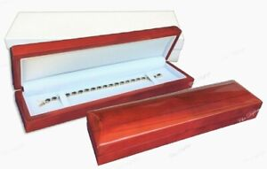 6pc Rosewood Watch Gift Boxes Red Bracelet Gift Boxes High Quality Jewelry Boxes