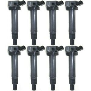 New Set Of 8 Ignition Coils For Toyota 4runner 4 Runner Tundra Land Cruiser