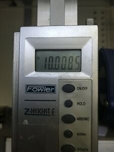 Fowler Z height E 12 Digital Height Gage