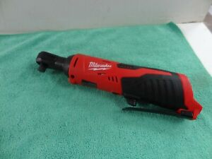 Milwaukee 2457 20 M12 Lithium Ion Variable Speed Trigger 3 8 Ratchet Tool Only
