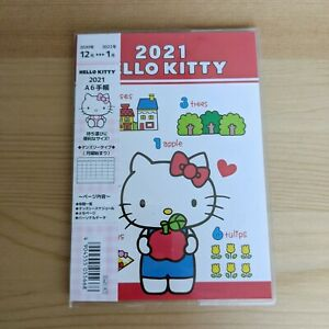 Hello Kitty 2021 Personal Organizer Kawaii Japan Diary Schedule Book Planner