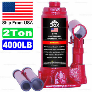 4000lbs 2 Ton Hydraulic Bottle Floor Jack Portable Heavy Duty Auto Car Jack