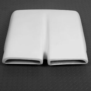 For 1970 71 72 73 74 75 76 Plymouth Duster Hood Scoop Cap White Fiberglass