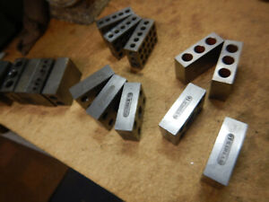 Pile Of 1 2 3 Blocks From A Machine Shop Machinist Jig Fixture Tooling Setup