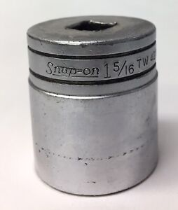 Snap on Tools Tw421 1 2 Drive 1 5 16 6 Point Socket Usa