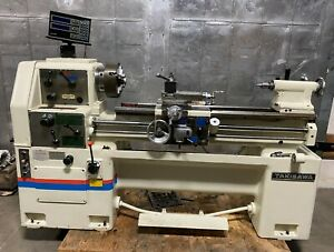 Takisawa Tsl deluxe 1000cd Gap Bed Engine Lathe 14 X 40 Dro With Tooling