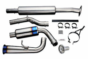 Tomei Expreme Ti Type 60s Cat Back Exhaust For 2013 Subaru Brz Scion Fr S