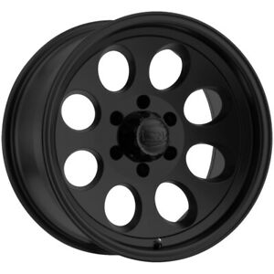 4 Ion 171 17x9 8x170 0mm Matte Black Wheels Rims 17 Inch