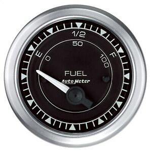 Autometer 8114 Chrono Fuel Level Gauge