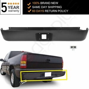 Rear Bumper Roll Pan Light For 99 06 Chevy Silverado Gmc Sierra 1500 Fleetside