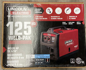 Lincoln Electric 125 Hd Weld pack K2513 1 Brand New In Box