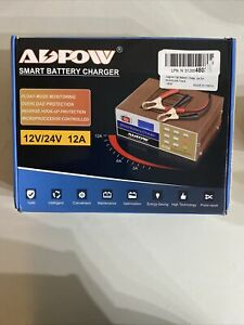 Adpow Automotive Battery Charger 12v 24v 10a Automatic Smart Battery Maintainer