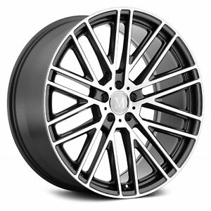 Mandrus Masche Wheel 19x8 5 25 5x112 66 56 Gunmetal Single Rim