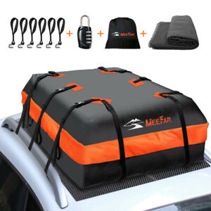 Roof Top Bag Cargo Carrier Waterproof 20 Cubic For All Cars With Without Rack