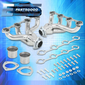 For Ford Small Block Sbc 289 302 351 V8 Steel Exhaust Racing Header Manifold Kit