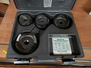 Greenlee Knockout Set For Hydraulic Drivers 7304 2 1 2 To 4