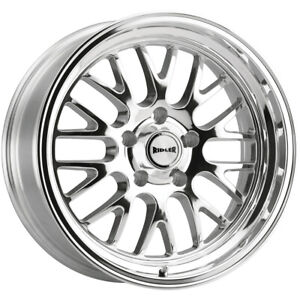 4 Ridler 607 20x8 5 5x5 0mm Polished Wheels Rims 20 Inch