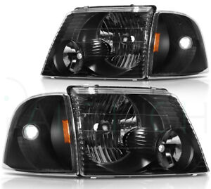 Headlights Assembly For Ford Explorer Sport Trac 2001 2005 Replacement Headlamp