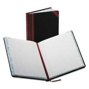 Boorum Pease Record account Book Record Rule Black red 300 072156384037