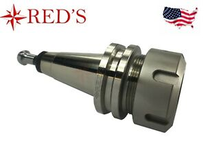 Reds Iso30 er32 50 Precision Collet Chuck Tool Holder G2 5 30k Cnc Router Nickel