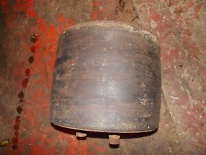 Farmall H Super Sh Hv 300 350 Tractor Ih Original Flat Belt Pulley W Bolts