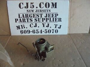 Jeep Willys Cj3b Cj5 Truck 4 Cly Carter New 1 Bbl Yf Carburetor Model 938sc