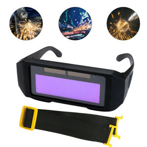 Auto Solar Darkening Lcd Welding Glasses Goggles Anti spatter Eye Protect