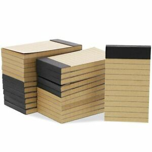 24pack Mini Small Pocket Size Notepads Notebooks Memo Pad Lined Paper 2x4
