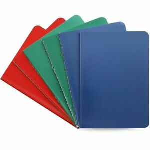 6x Stone Paper Travel Small Journal Notebook College Ruled Note Book Pad 4 x5 5