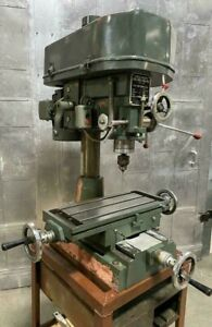 Complex Cut King Milling Drilling Machine Ck 30 Single Phase 2hp Vertical Mill