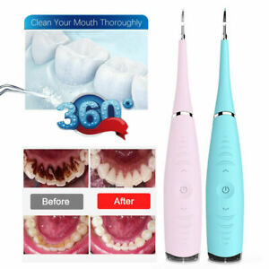 Electric Tooth Cleaner Ultrasonic Oral Irrigator Teeth Stain Dental Cleaning